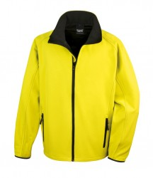 Image 3 of Result Core Printable Soft Shell Jacket