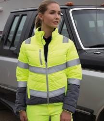 Result Safe-Guard Ladies Soft Safety Jacket image