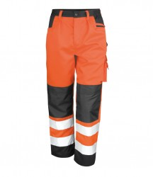 Result Safe-Guard Hi-Vis Cargo Trousers image