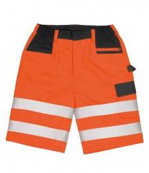 Result Safe-Guard Hi-Vis Cargo Shorts image
