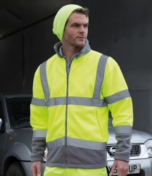 Result Safe-Guard Hi-Vis Micro Fleece Jacket image