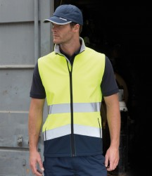 Result Safe-Guard Printable Safety Soft Shell Gilet image