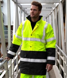 Result Core Motorway Two Tone Safety Jacket image