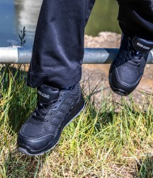 Result Work-Guard All Black SRA SB Safety Trainers image