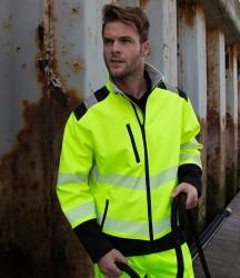 Result Safe-Guard Printable Ripstop Safety Soft Shell Jacket image