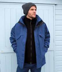 Result 3-in-1 Waterproof Zip and Clip Fleece Lined Jacket image