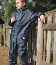 Result Kids Waterproof Jacket/Trouser Suit in Carry Bag image