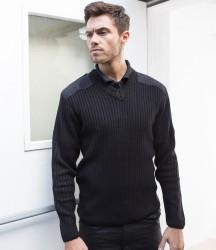 RTY Nato Style Acrylic V Neck Sweater image