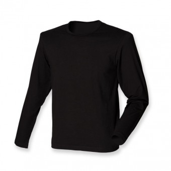 SF Men Modern Stretch Long Sleeve T-Shirt image