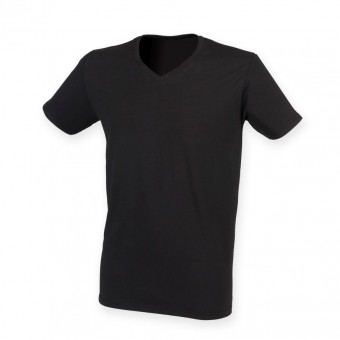 SF Men Feel Good V Neck Stretch T-Shirt image