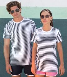 SF Unisex Striped T-Shirt image