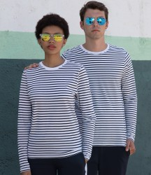 SF Unisex Long Sleeve Striped T-Shirt image