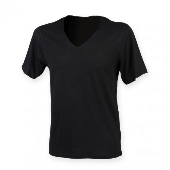 SF Men Wide V Neck T-Shirt image