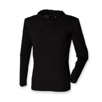 SF Men Long Sleeve Hooded T-Shirt image