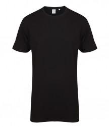 SF Men Long Line Dipped Hem T-Shirt image