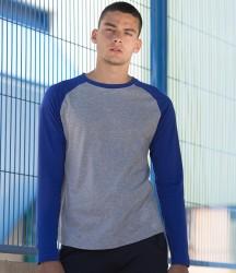 SF Men Long Sleeve Baseball T-Shirt image