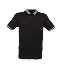 SF Men Contrast Fashion Jersey Polo Shirt image
