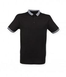 SF Men Contrast Fashion Jersey Polo Shirt image
