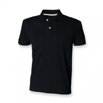 SF Men Cotton Slub Polo Shirt image