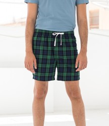 SF Men Tartan Lounge Shorts image