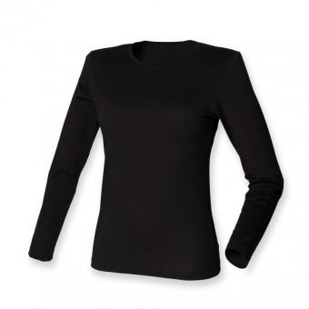 SF Ladies Modern Stretch Long Sleeve T-Shirt image