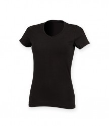 SF Ladies Feel Good V Neck Stretch T-Shirt image