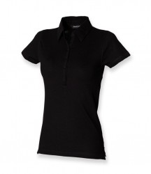 SF Ladies Stretch Piqué Polo Shirt image