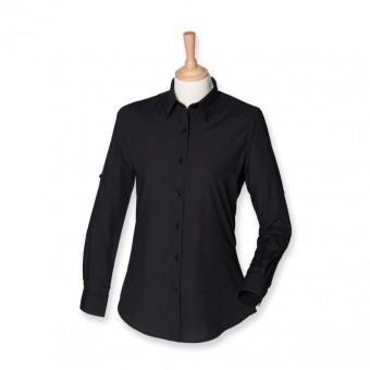 SF Ladies Roll Sleeve Shirt image