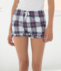SF Ladies Tartan Frill Shorts image