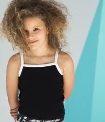SF Minni Kids Feel Good Stretch Contrast Strappy Vest image