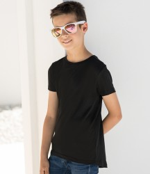 SF Minni Kids Long Line Dipped Hem T-Shirt image