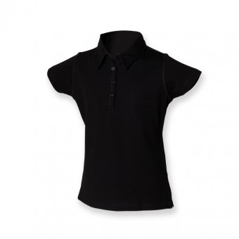 SF Minni Kids Unisex Stretch Piqué Polo Shirt image