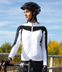 Spiro Ladies Bikewear Long Sleeve Performance Top image