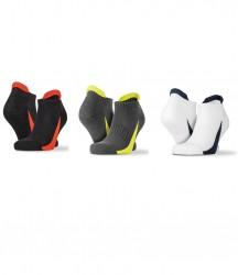 Spiro 3 Pack Sports Sneaker Socks image