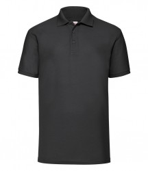 Image 4 of Fruit of the Loom Poly/Cotton Piqué Polo Shirt