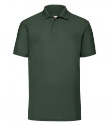 Image 7 of Fruit of the Loom Poly/Cotton Piqué Polo Shirt