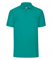 Image 15 of Fruit of the Loom Poly/Cotton Piqué Polo Shirt