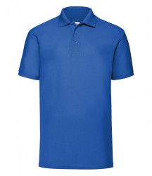 Image 13 of Fruit of the Loom Poly/Cotton Piqué Polo Shirt