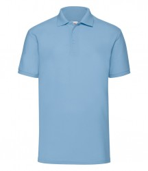 Image 3 of Fruit of the Loom Poly/Cotton Piqué Polo Shirt