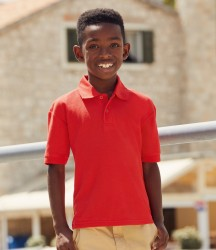 Fruit of the Loom Kids Poly/Cotton Piqué Polo Shirt image