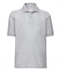Image 15 of Fruit of the Loom Kids Poly/Cotton Piqué Polo Shirt