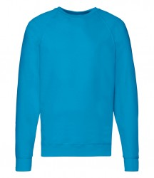 Image 2 of Fruit of the Loom Lightweight Raglan Sweatshirt