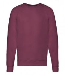 Image 5 of Fruit of the Loom Lightweight Raglan Sweatshirt