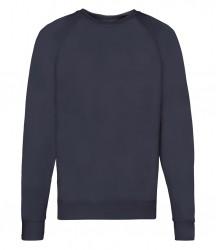Image 6 of Fruit of the Loom Lightweight Raglan Sweatshirt