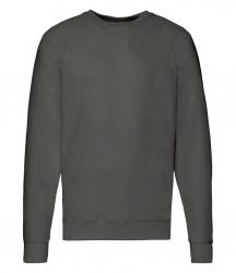Image 9 of Fruit of the Loom Lightweight Raglan Sweatshirt