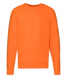 Image 10 of Fruit of the Loom Lightweight Raglan Sweatshirt