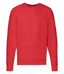 Image 11 of Fruit of the Loom Lightweight Raglan Sweatshirt