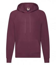 Image 9 of Fruit of the Loom Lightweight Hooded Sweatshirt