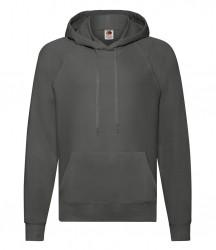 Image 4 of Fruit of the Loom Lightweight Hooded Sweatshirt