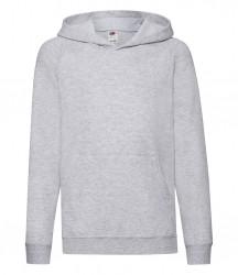 Image 8 of Fruit of the Loom Kids Lightweight Hooded Sweatshirt